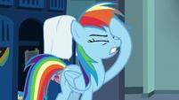 Rainbow Dash looking exasperated S7E7