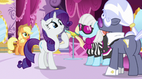 "Rarity ""I thought she was still making costumes"" S7E9"