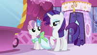 Rarity -they're going as our dates- S5E7