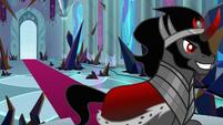 Sombra proud of his new throne room S9E2