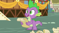 """Spike """"I invited Dragon Lord Ember"""" S7E15"""