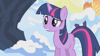 Twilight asking about birds' nests S1E11