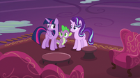 Twilight gives Starlight a lesson on apologizing S6E21