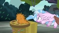 Yona pulls Silverstream away from puckwudgie S8E2
