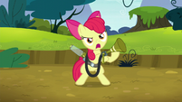 Apple Bloom calls out to twittermites S5E4