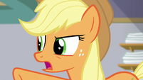 Applejack --have you always run every single one-- S6E10