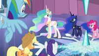 Celestia --Those storm clouds are not like the ones you know-- S6E2