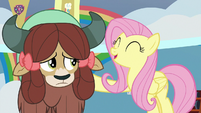 "Fluttershy ""you'll learn them in no time"" S9E7"