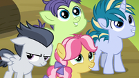 Foals in awe of Thunderlane; Rumble still annoyed S7E21