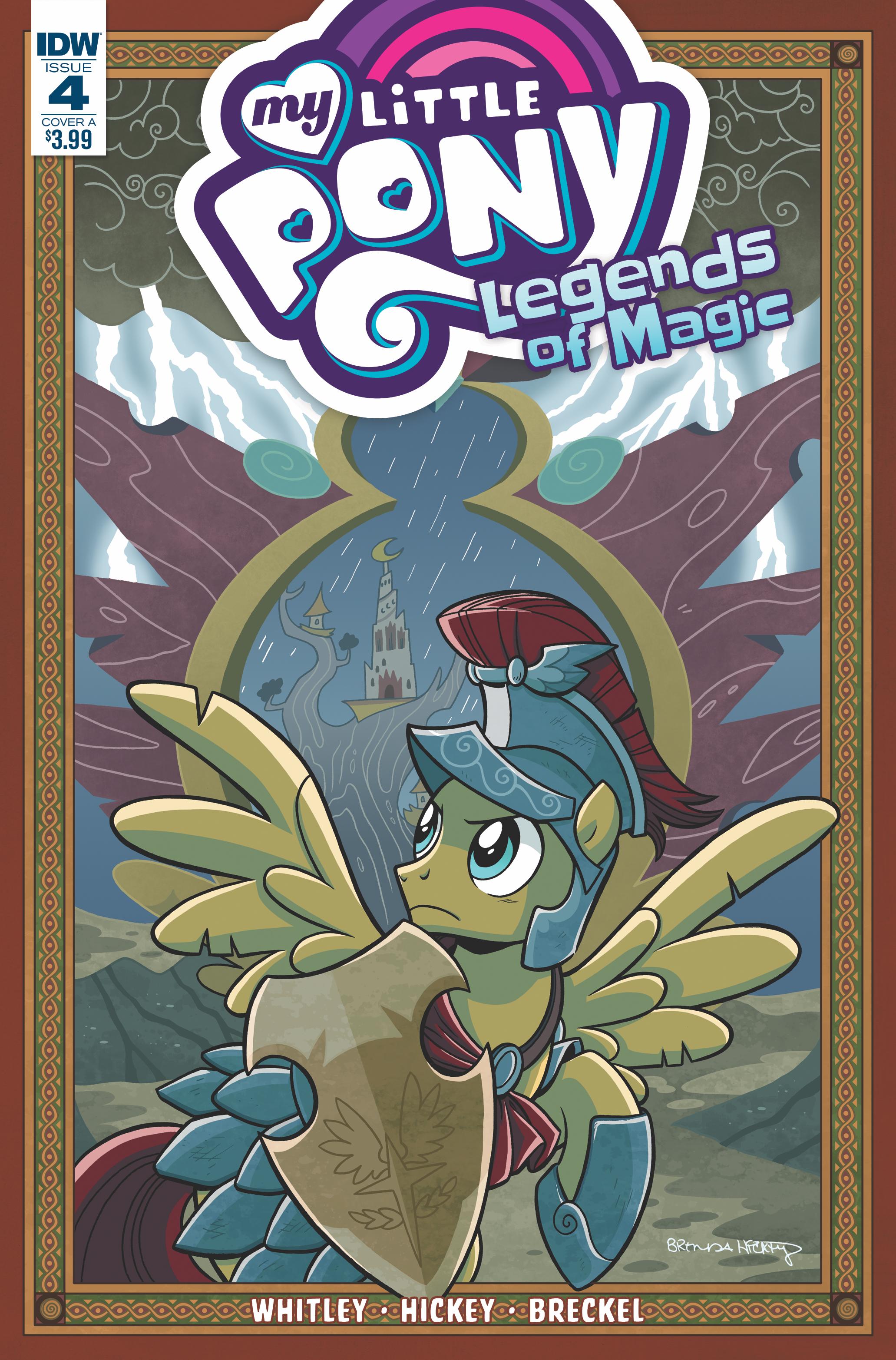 Legends of Magic Issue 4