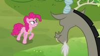 """Pinkie Pie """"make that bunny cute again!"""" S03E10"""