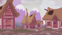 Ponyville looking abandoned S5E25