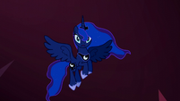 Princess Luna arrives in Rainbow Dash's dream S5E13