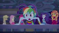 "Rainbow ""little ribbon thingies!"" EGSB"