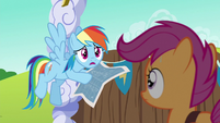 "Rainbow Dash ""to make the fastest cart ever!"" S6E14"