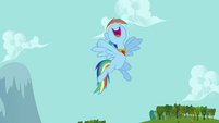 Rainbow Dash -you go, Fluttershy!- S03E10