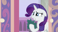 Rarity crying over her lost magic S8E25
