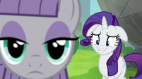Rarity looking embarrassed S6E3