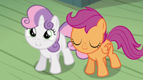 """Sweetie Belle """"she'll know she isn't alone!"""" S5E4"""