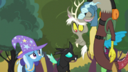 Thorax, Discord, and Trixie
