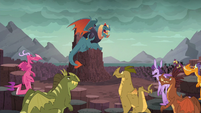 Torch --I present to you our new Dragon Lord-- S6E5