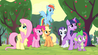 """Twilight """"catch whoever it is in the act"""" S4E07"""