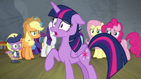 "Twilight ""if I tell Celestia she's terrible"" S8E7"
