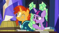 Twilight Sparkle -sort of like a treasure hunt- S7E24