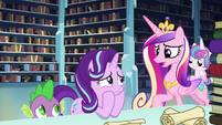 Cadance --you should bring him here-- S6E2