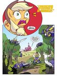 My Little Pony Transformers issue 4 page 1