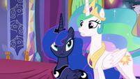 Princess Celestia --Dragons glow whenever the Dragon Lord...-- S6E5