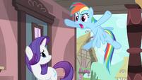 """Rainbow """"like a big ball of 'lame'!"""" S4E11"""