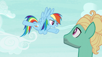 """Rainbow Dash """"you're coming with me!"""" S6E11"""