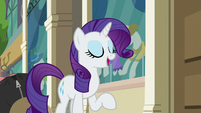 """Rarity """"knew Fluttershy had it in her"""" S8E4"""