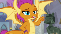 """Smolder """"I'm guessing that one"""" S8E15"""