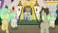 Sombrafied forces advance on Mane Six S9E2