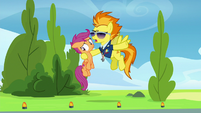 """Spitfire """"can't go out in the sun"""" S8E20"""