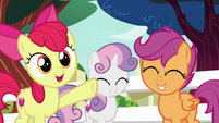 "Apple Bloom ""helpin' you has been even more fun!"" S8E12"