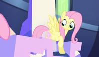 Fluttershy's cutie mark glows S5E01
