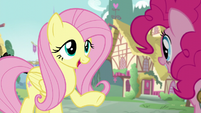 Fluttershy -you would bring some snacks to the castle- S5E19