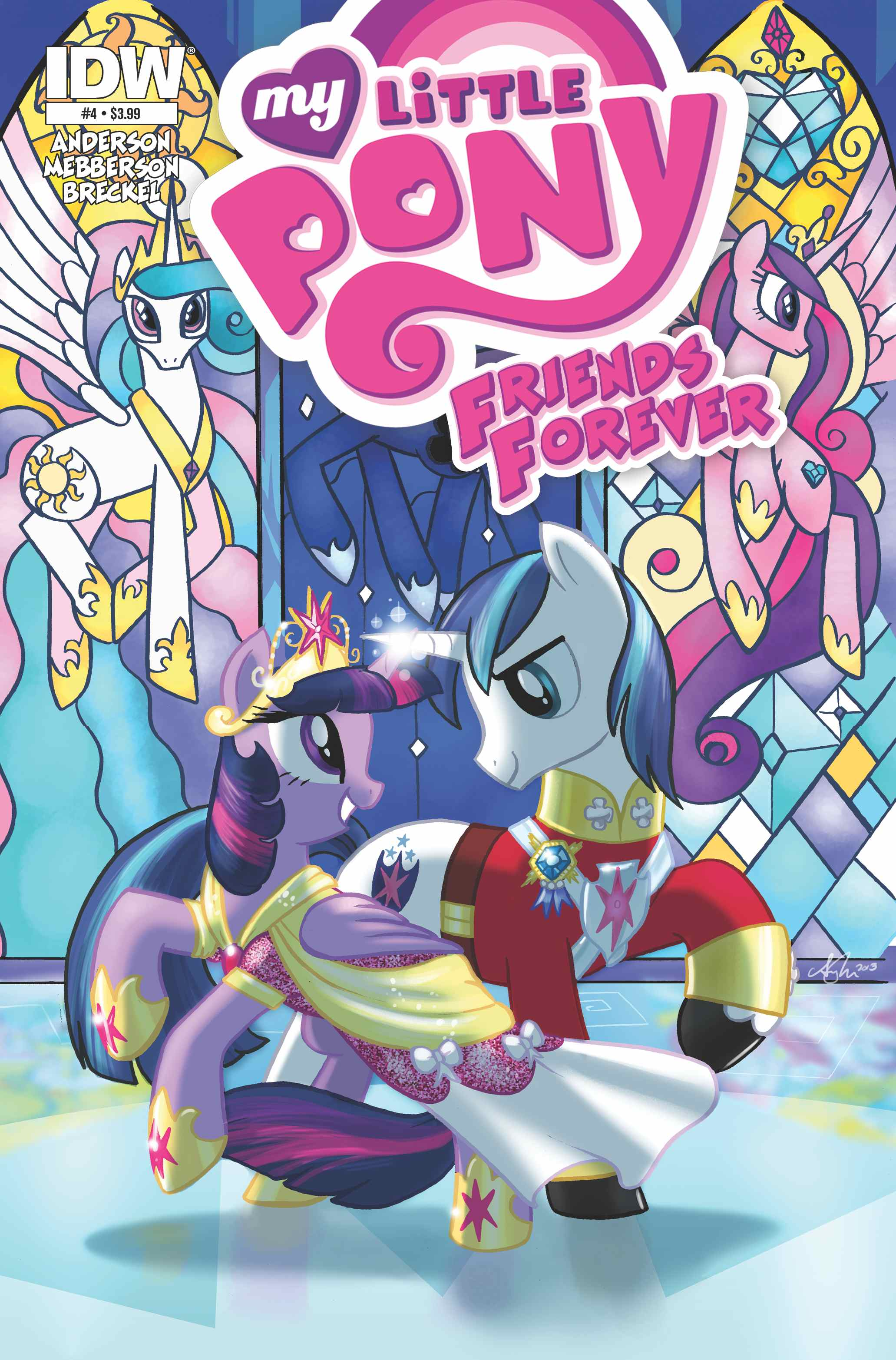 Friends Forever Issue 4