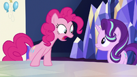 Pinkie Pie --getting an invitation to a party-- S6E25