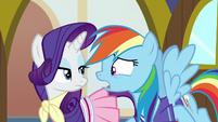 "Rainbow ""I even said shopping that time!"" S8E17"