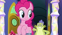 Sludge follows after Pinkie Pie S8E24