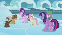 Starlight --just reminding these two colts-- S5E25