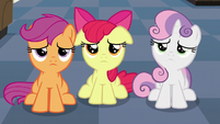 The Cutie Mark Crusaders disappointed S6E4