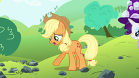 "Applejack ""for a pebble in a haystack"" S4E18"