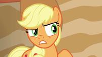 Applejack doesn't trust Flim and Flam S6E20