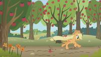 Applejack hears a stampede S1E04