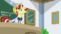 "Flam ""keep it up and you'll be ready"" S8E16"